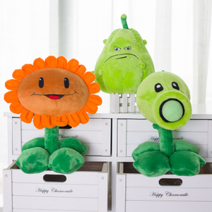 30 cm Elegant Plants vs Zombies Plush Toys Stuffed Soft Toys Doll Baby Toy for Kids Gifts Party Toy