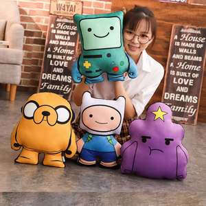 Adorable Finn and Jake Plush Toy Pillow Cushion Cartoon Adventure Time Toys For Children & Fans Gift