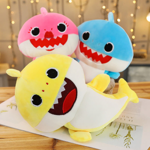 Singing Soft Plush Baby Shark Toy for Children