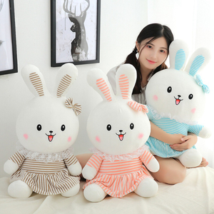 70 cm Large Size Soft Rabbit Plush Toy Stuffed Animal Bunny Rabbit Plush Soft Placating Toys Brand For Children's Bed Toy