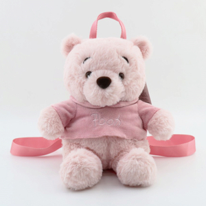 23 cm Soft Winnie Teddy Bear Cartoon Plush Toy Backpack Dual Function Toys Gift for Teenager Girl