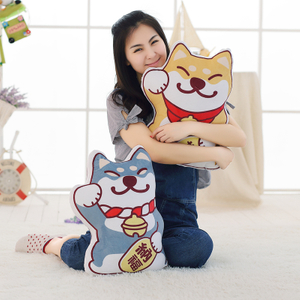 Adorable Cute Soft Shiba Inu Cushion Dog Plush Toy Marutaro Dog Doll Animal Toy Dog Toys For Children Birthday Gift