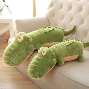 Large size 65/85 cm Crocodile Plush Toy Stuffed Animal Crocodile Alligator Cotton Pillow Plush Toy For Children