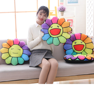 Sunflower Sitting Pad Plush Toy For Chair