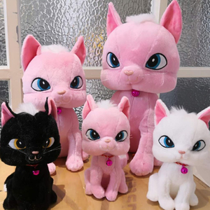 Soft Cat Plush Toy 23//35/45 cm Stuffed Animal Cat Toy for Children's Day Gift Or Bedroom Decoration