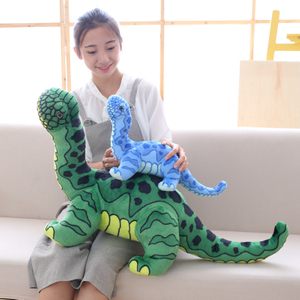 90 cm Soft Simulation Dinosaur Plush Toy For Children Cartoon Animals Jurassic Park Large Size Stuffed Toy
