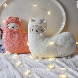 47x47 cm Soft Aromatherapy Alpaca Plush Toy Lovely Stuffed Animal Alpaca Aromatherapy Pillow For Kids Birthday Gift