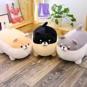 40/50 cm Soft Shiba Inu Dog Plush Toy Plump Body Dog Stuffed Doll Pillow For Kids Birthday Gift Or Shop Home Decoration