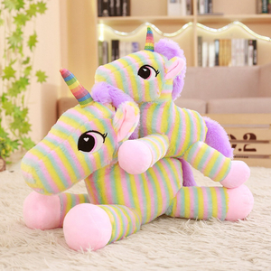 30/40/50 cm Soft Unicorn Plush Toy Rainbow Unicorn Toys Pillow Stuffed Animals Toys For Children Gifts Home Decoration