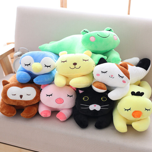 45 cm Plush Animal Pillow Toy Super Soft Exquisite Stuffed Animal Toy Cushion For Children Toy Wholesale Drop Shipping Available