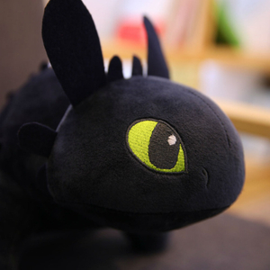 How To Train Dragon Toothless Night Fury Plush Stuffed Toothless Toys For Children