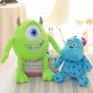 Monster Inc Mike Wazowski & James P. Sullivan Stuffed Soft Plush Toy Gift For Kids